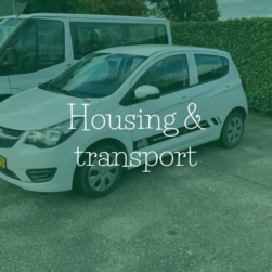 Housing and transport